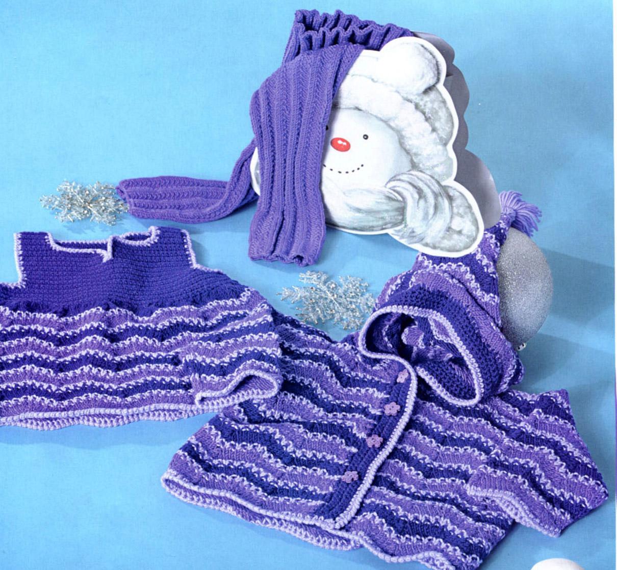 Вязанные сарафаны для женщин со схемами вязания изделий