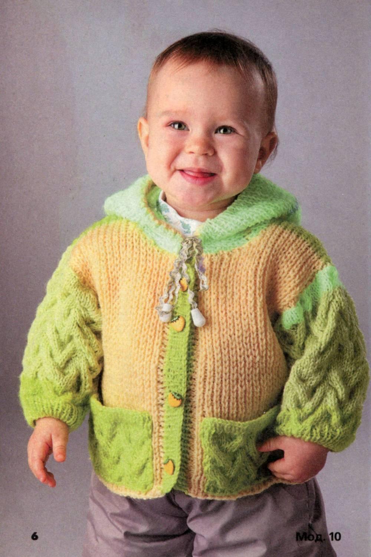 Как вязать спицами детскую одежду