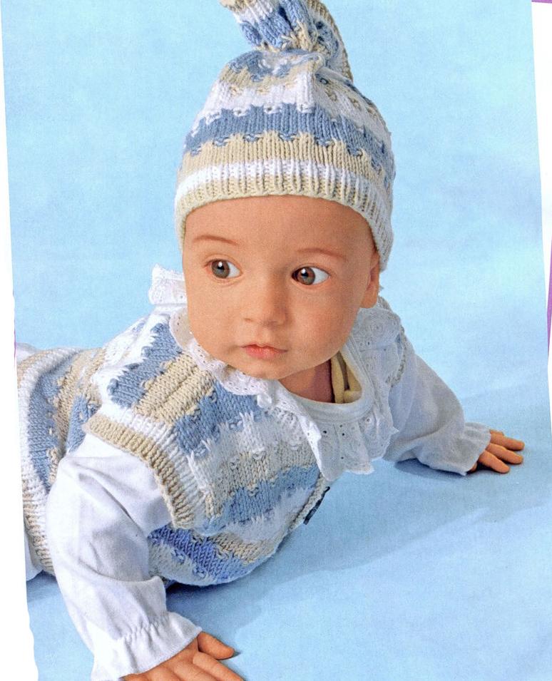 Вязание для детей спицами со схемами.