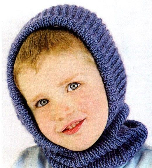 Вязание шапки вытянутыми петлями на спицах